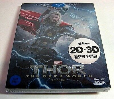 Thor The Dark World from Korea* blu-ray steelbook.New and sealed