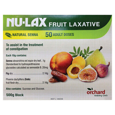 Nulax Fruit Laxative 500g
