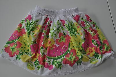 Genuine Kids Oshkosh girls' fruit and flower skirt size 5T