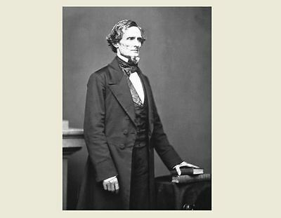 Jefferson Davis Portrait PHOTO, Civil War Confederate States President,CSA 1861