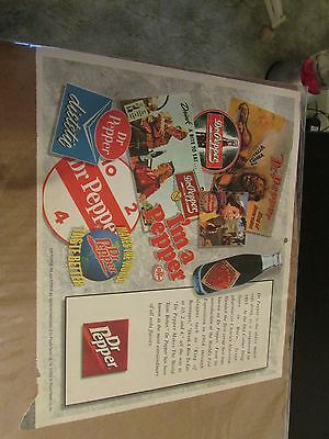 2000 Dr. Pepper Advertisement (Free Shipping)