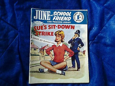 JUNE and SCHOOLFRIEND & PRINCESS  library  No.447/1968