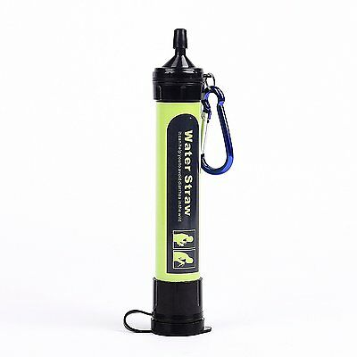 Hsbest Personal Portable LifeStraw Water Filter For Camping, Hiking, Backpacking