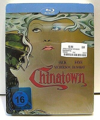Chinatown from Germany* blu-ray steelbook.New and sealed