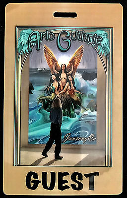 Arlo Guthrie - Guest Tour Laminate Backstage Pass - 2012 Journey On - LAST ONE!