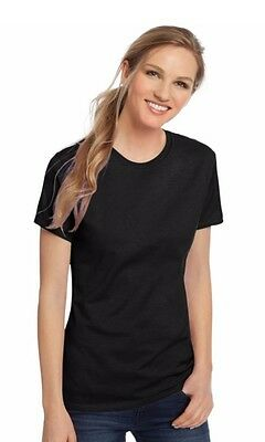Hanes Women's Nano-T Shirt 100% Cotton Short Sleeve - All Proceeds go to Charity