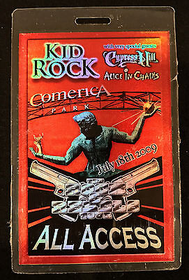 Kid Rock, Cypress Hill & Alice in Chains - All Access Laminate Backstage Pass 09