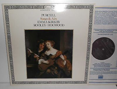 DSDL 713 Purcell Songs & Airs Emma Kirkby Anthony Rooley Christopher Hogwood