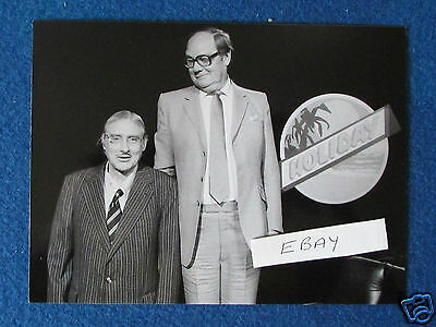 "Original Press Photo - 8""x6"" - Spike Milligan - There's A Lot Of It About-1982 b"