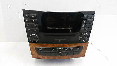 Mercedes E class W211 stereo and cd changer set