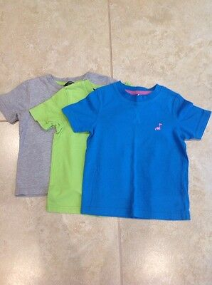 Pack Of 3 Baby Boy's T-Shirts Age 1 1/2 - 2 Years