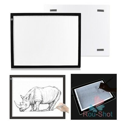 A3 Drawing Tracing Copy Board Tracer LED Thin Light Pad Box Art Tattoo Sketch【AU