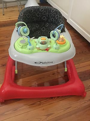 Baby Love walker with play Activity centre