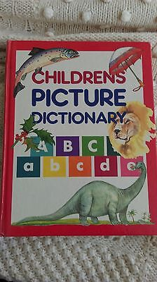 Childrens Picture Dictionary hardback Great Condition