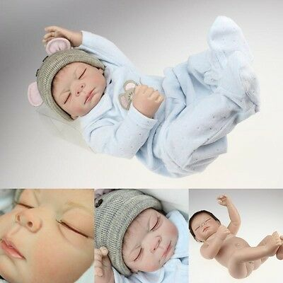 "20""Full Body Silicone Reborn Baby Doll Handmade Lifelike Newborn High-grade gift"