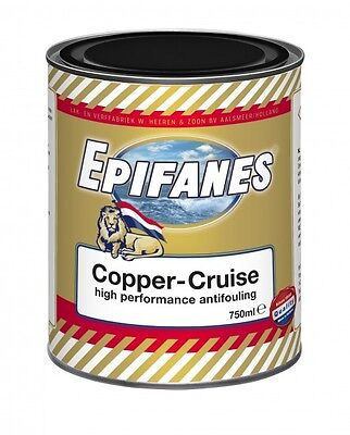 (68,15€/1l) Epifanes Copper Cruise Antifouling, 750ml