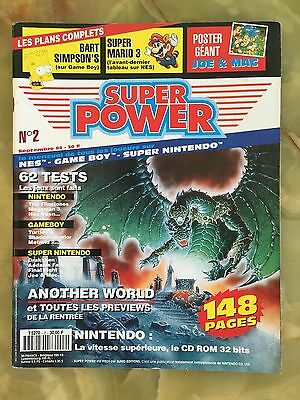 Super Power 2 09/92 Magazine De Jeux Video Nintendo Sega Xbox Playstation