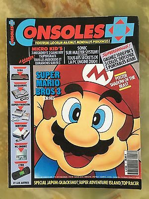 Consoles + Plus 3 11/91 Magazine De Jeux Video Nintendo Sega Xbox Playstation