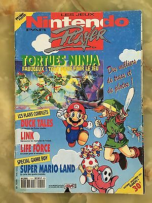 Nintendo Player 1H 10/91 Magazine De Jeux Video Ultra Sega Xbox Playstation