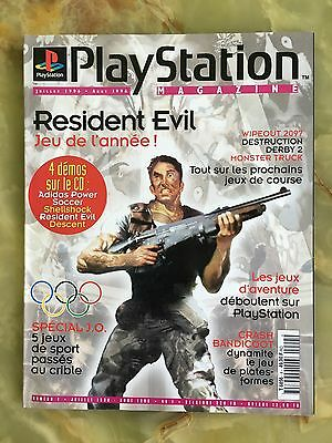 Playstation Magazine 4 Été 96 Jeux Video Sega Nintendo Retrogaming Ps One 2 Psp