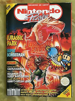 Nintendo Player 14 11/93 Magazine De Jeux Video Ultra Sega Xbox Playstation