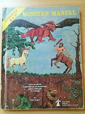 1st Edition Advanced Dungeons & Dragons Monster Manual.