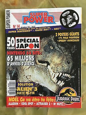 Super Power 14 10/93 Magazine De Jeux Video Nintendo Sega Xbox Playstation