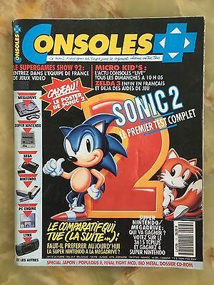 Consoles + Plus 13 10/92 Magazine De Jeux Video Nintendo Sega Xbox Playstation