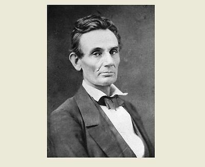 President Abraham Lincoln 1859 PHOTO Mary Todd's Favorite Portrait, Chicago