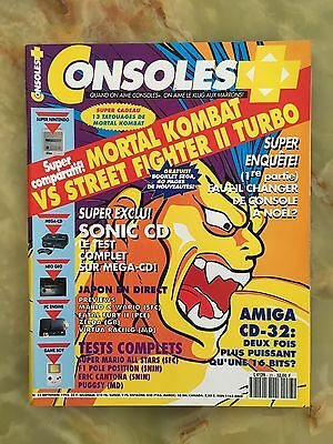 Consoles + Plus 23 09/93 Magazine De Jeux Video Nintendo Sega Xbox Playstation
