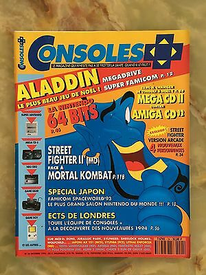 Consoles + Plus 24 10/93 Magazine De Jeux Video Nintendo Sega Xbox Playstation