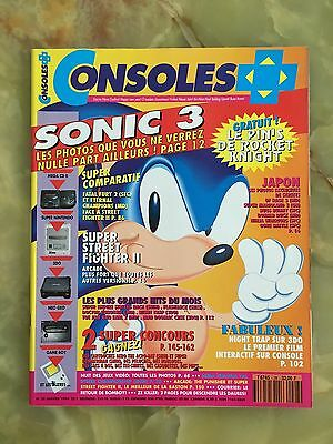 Consoles + Plus 28 01/94 Magazine De Jeux Video Nintendo Sega Xbox Playstation