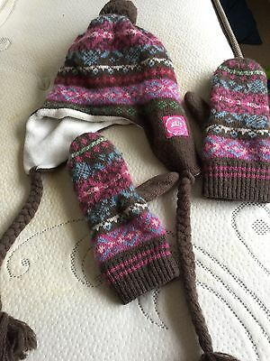 Joules Hat And Mitten Set
