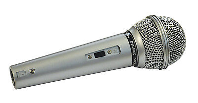 Mr Entertainer Dynamic Handheld Karaoke Vocal Microphone With XLR Lead 600 Ohm