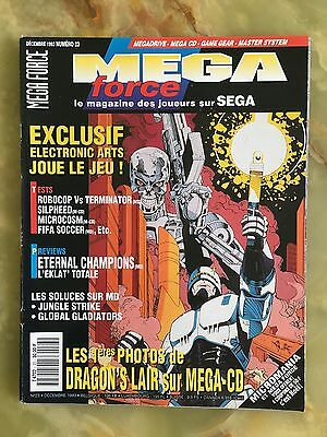 Megaforce 23 12/93 Magazine De Jeux Video Nintendo Sega Xbox Playstation