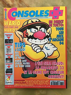 Consoles + Plus 31 04/94 Magazine De Jeux Video Nintendo Sega Xbox Playstation