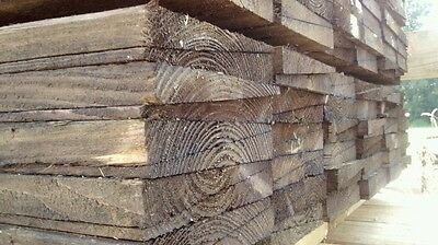 3m  Feather Edge Boards 7 Inches wide, Pressure Treated Timber Cladding