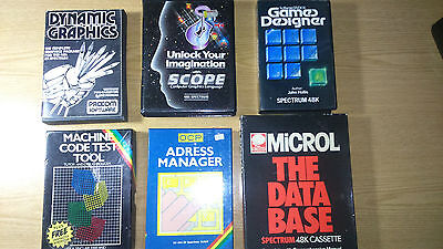 ZX Spectrum Programming and Design software compilation - good condition