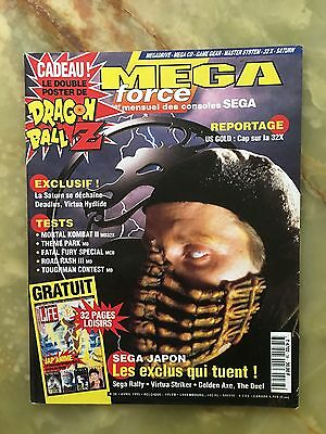 Megaforce 38 04/95 Magazine De Jeux Video Nintendo Sega Xbox Playstation