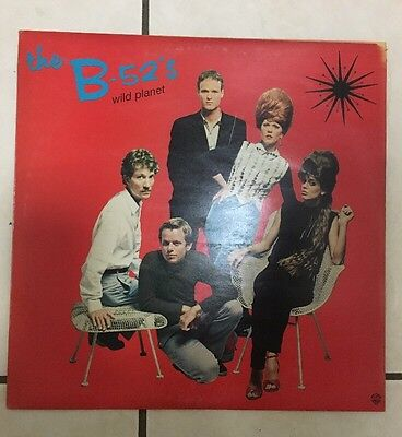 THE B52s - WILD PLANET LP - IN EXCELLENT CONDITION - 1980