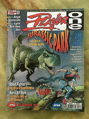 Player One 35 10/93 Magazine De Jeux Video Nintendo Sega Xbox Playstation