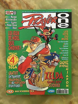 Player One 37 12/93 Magazine De Jeux Video Nintendo Sega Xbox Playstation