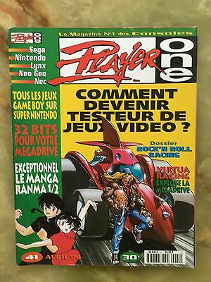 Player One 41 04/94 Magazine De Jeux Video Nintendo Sega Xbox Playstation