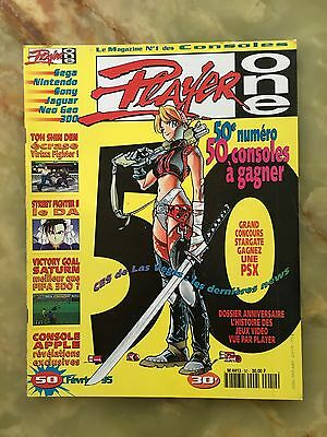 Player One 50 02/95 Magazine De Jeux Video Nintendo Sega Xbox Playstation
