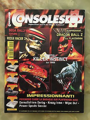 Consoles + Plus 46 09/95 Magazine De Jeux Video Nintendo Sega Xbox Playstation
