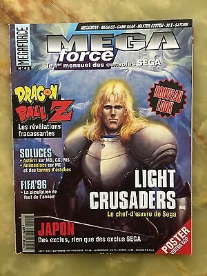 Megaforce 42 09/95 Magazine De Jeux Video Nintendo Sega Xbox Playstation