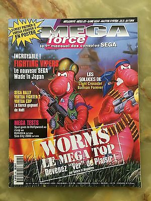 Megaforce 45 12/95 Magazine De Jeux Video Nintendo Sega Xbox Playstation