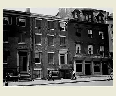 Lincoln Death House PHOTO Peterson House President Abraham Lincoln Assassination