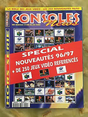 Magazine Consoles News 1H De 06/96 Jeux Video Sega Nintendo N64 Gba Retrogaming