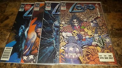 Lobo 1-4 DC Comic Lot mini Series